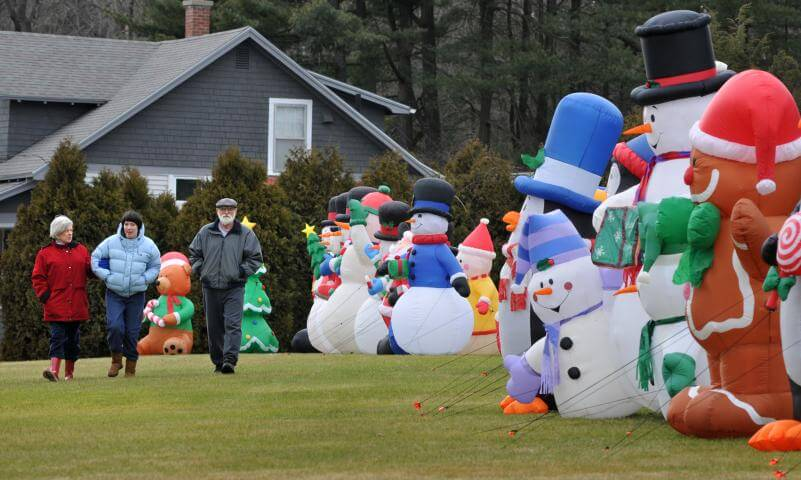 inflatable and people - Cheap Inflatable Christmas Lawn Decorations