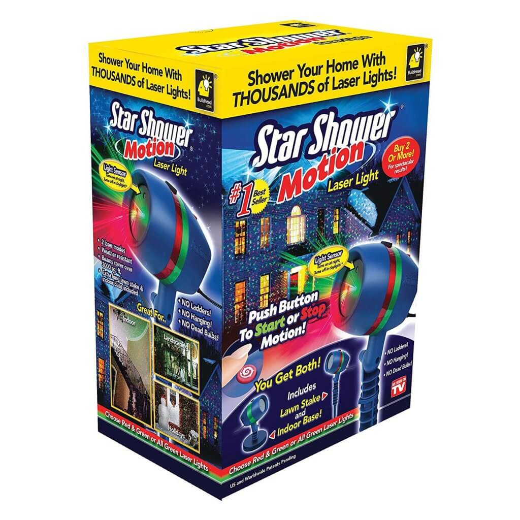 Star Shower Motion Laser Light Review ⋆ Yard Inflatable Life